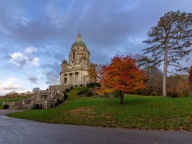 The Ashton Memorial Is Located At The Highest Point In Williamso